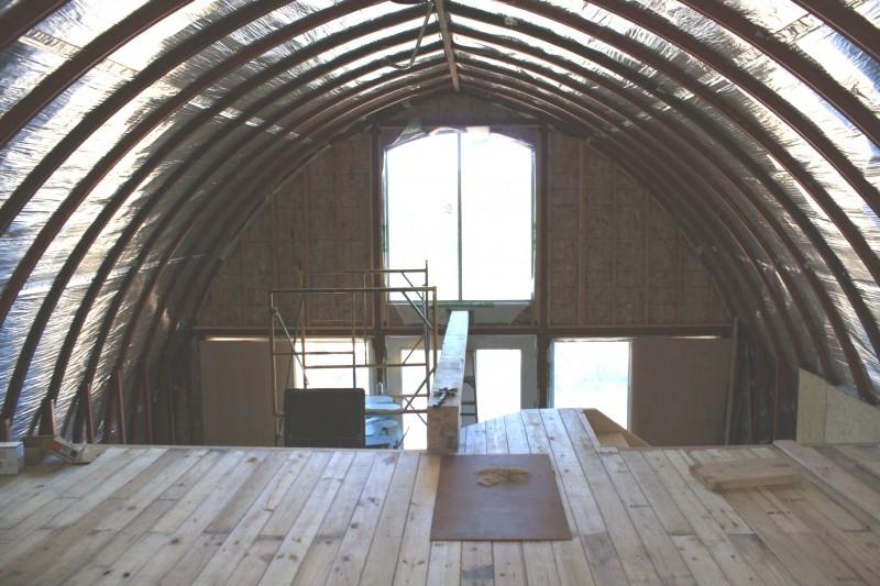 Ela pensou que o marido estava louco por querer se mudar for Arched cabin floor plans