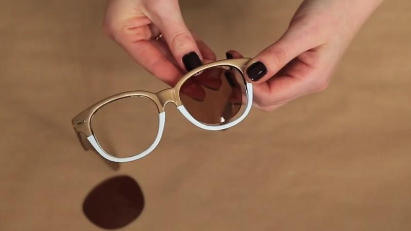 a9d96ad09 Com estes truques, óculos baratos vão parecer uma peça de um ...