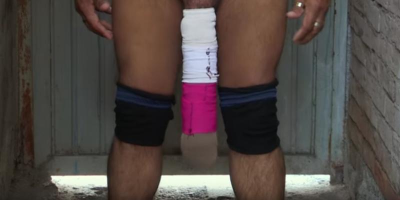 Mexicano afirma ter o maior pênis do mundo com 50 cm.