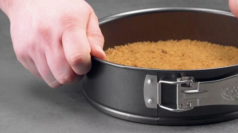 Base de biscoito para torta