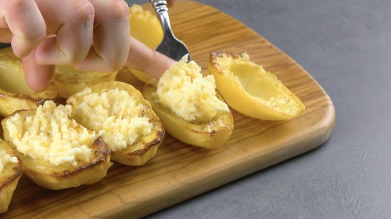 Purê de batatas de volta às batatas originais