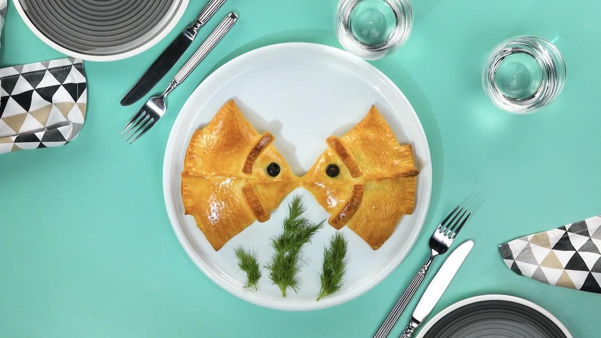 Minipizzas de peixinho