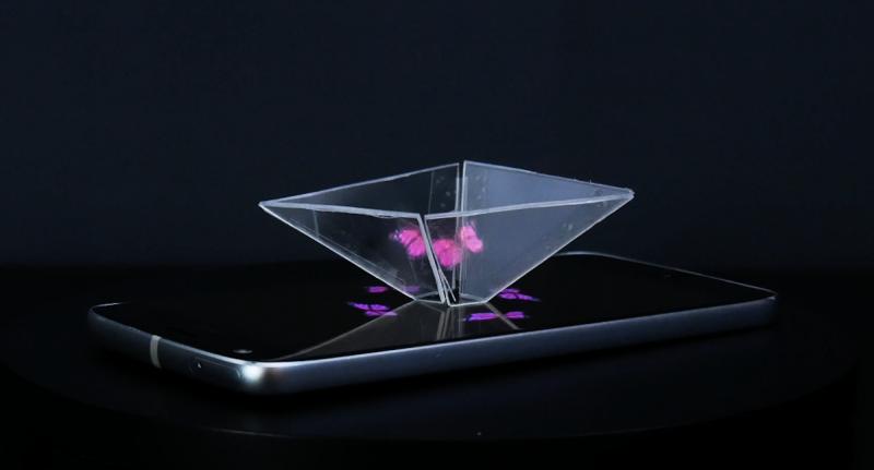 Holograma no smartphone