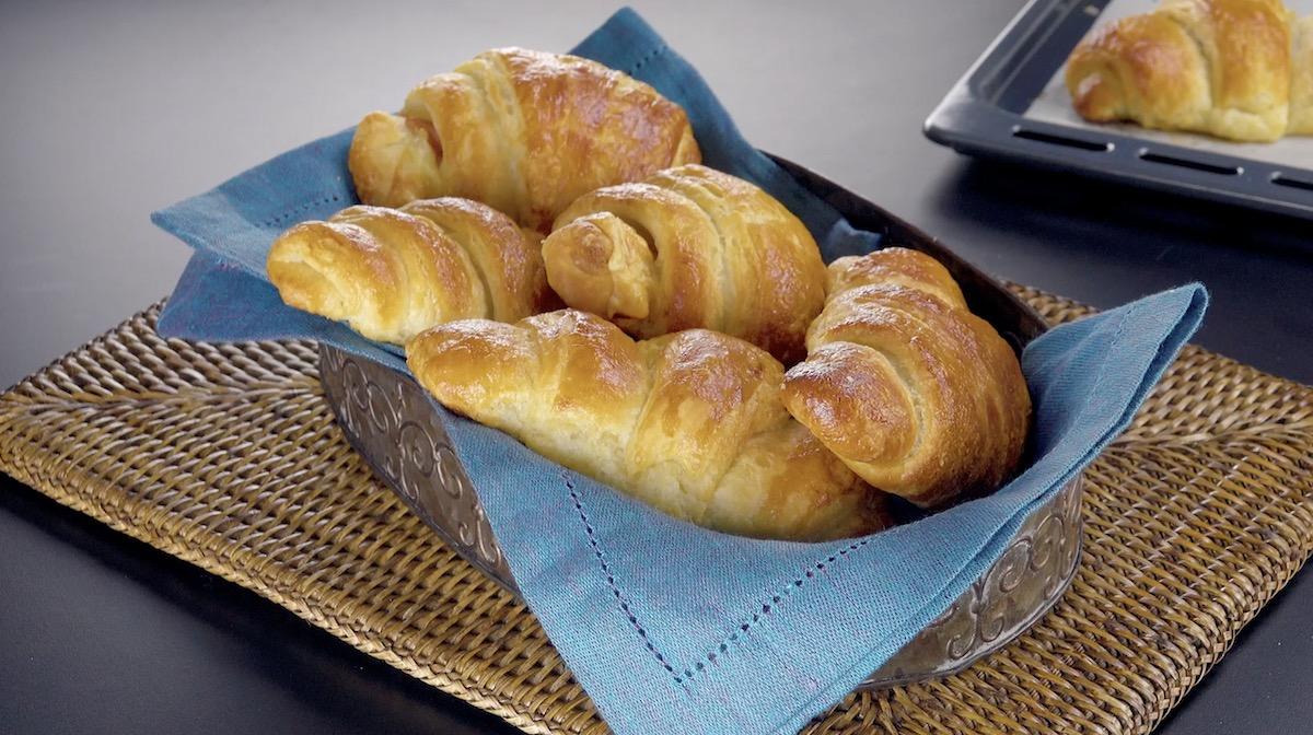 Croissants saídos do forno