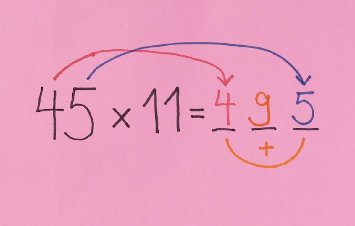 Truque de multiplicação por 11