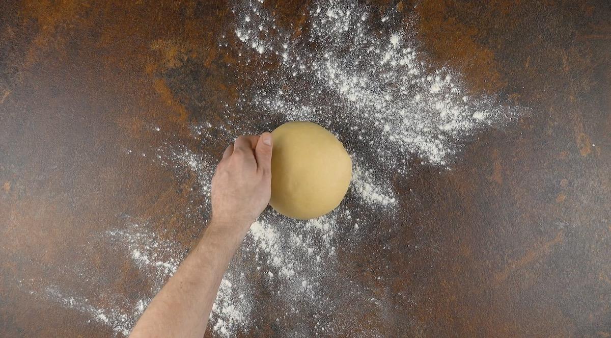Massa de pão pronta