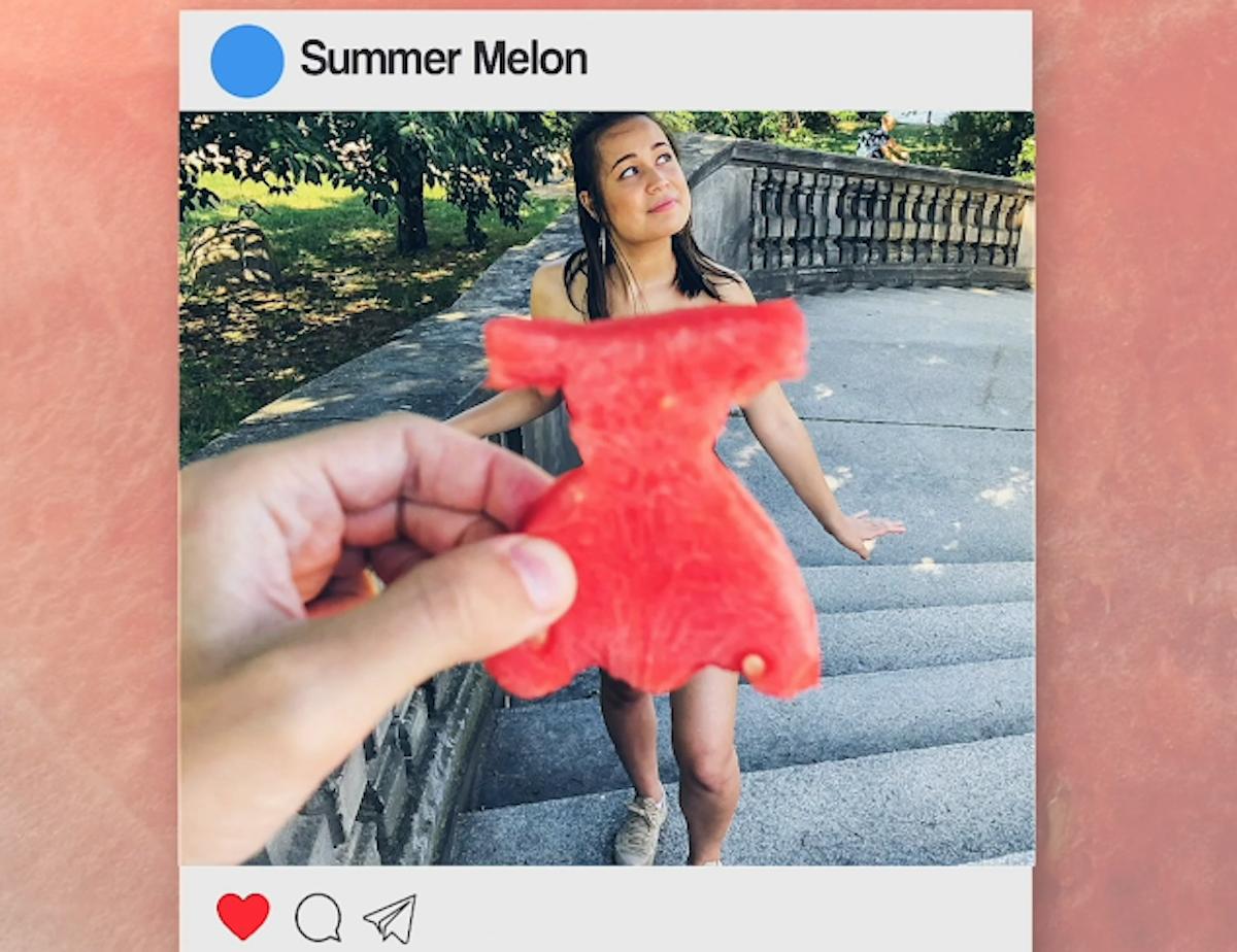 vestidinhos de melancia