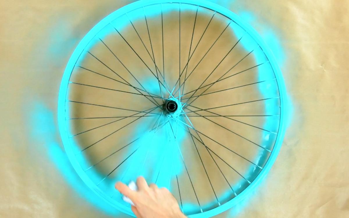 pinte a roda