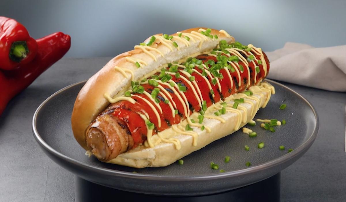 receita de cachorro-quente no grill