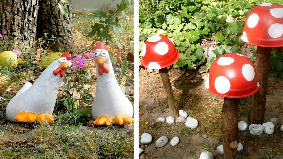 3 ideias de decoração de jardim