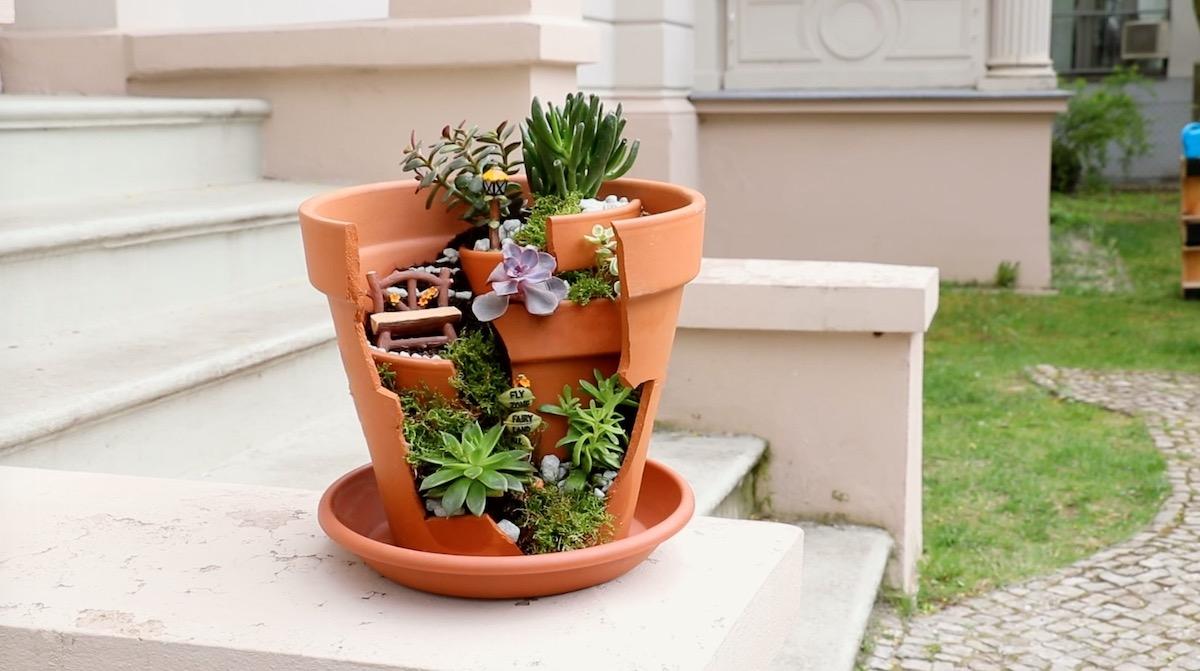 projeto de jardim de fadas