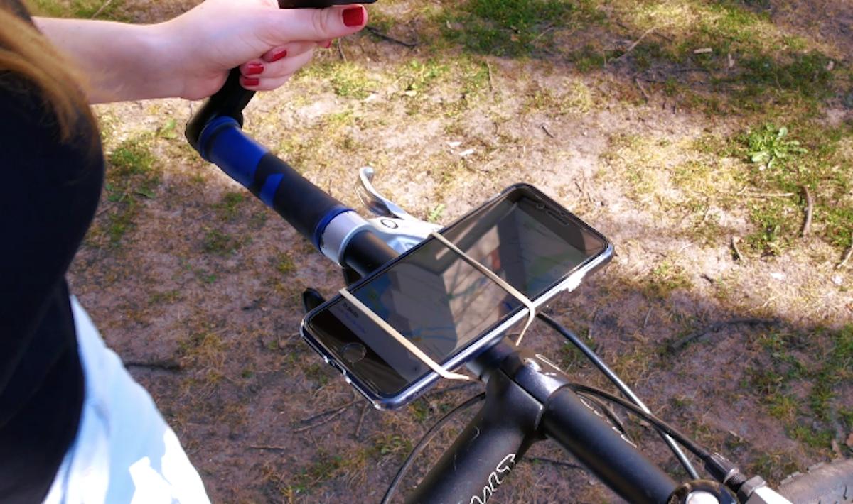 Suporte de elástico para smartphone