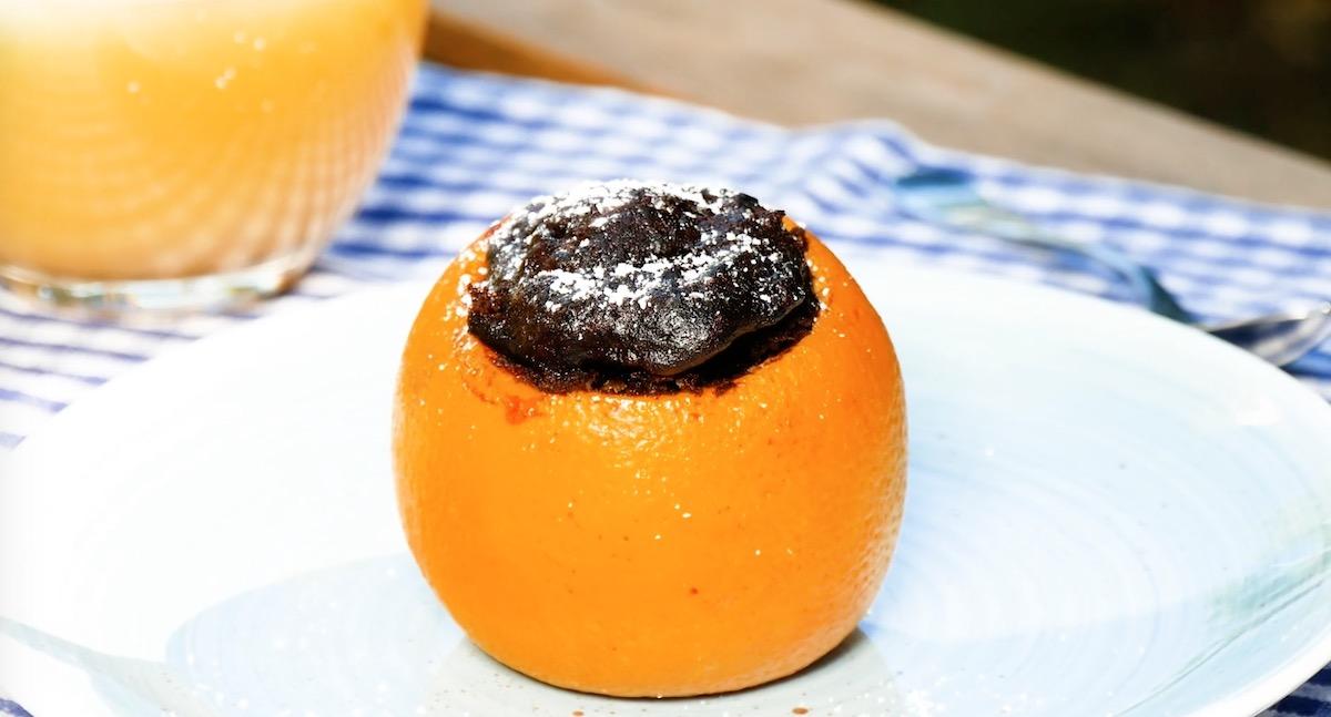 Brownie na laranja