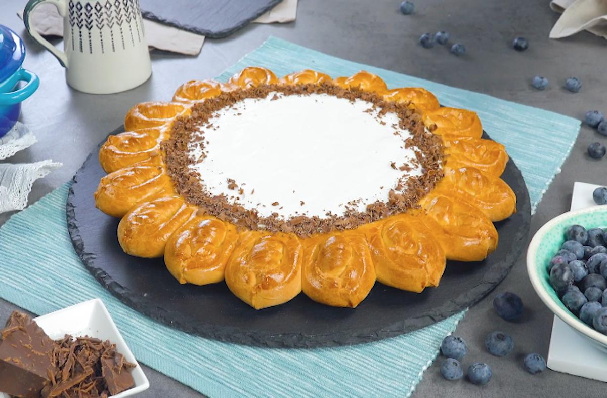 torta de mirtilos