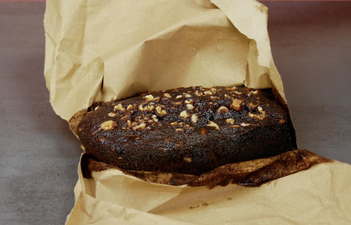 brownie caseiro com nozes