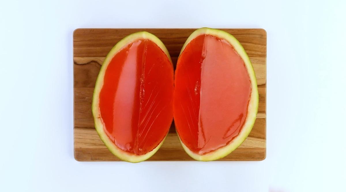 melancia com goma