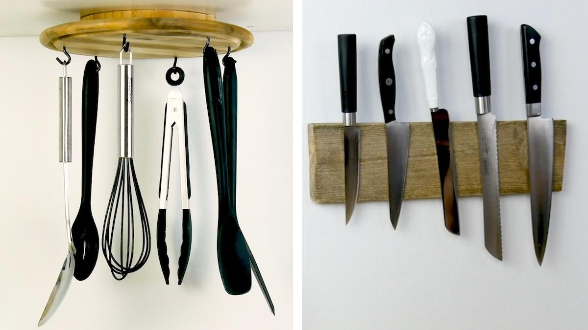 Acessórios com design em madeira