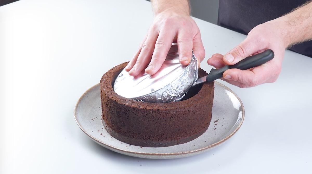 deixe o bolo esfriar