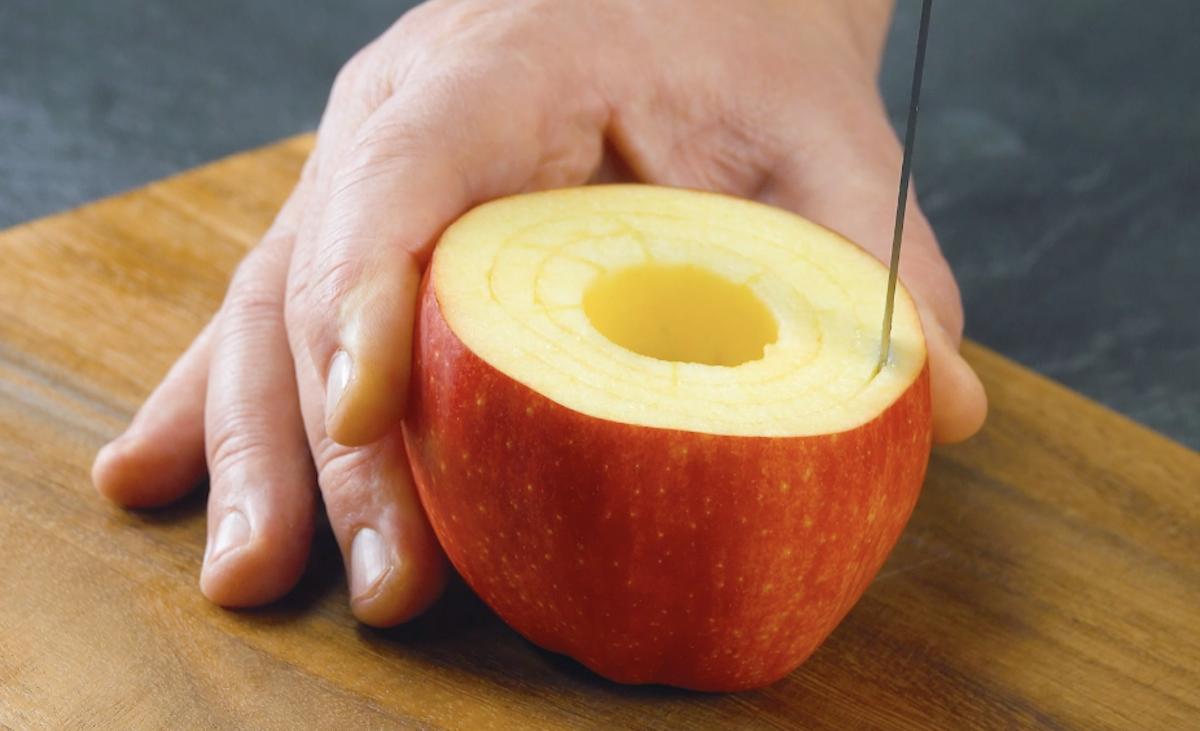 corte a maçã