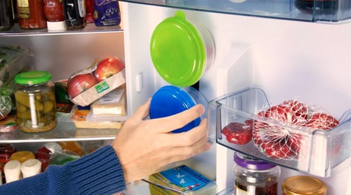 truques para organizar a geladeira