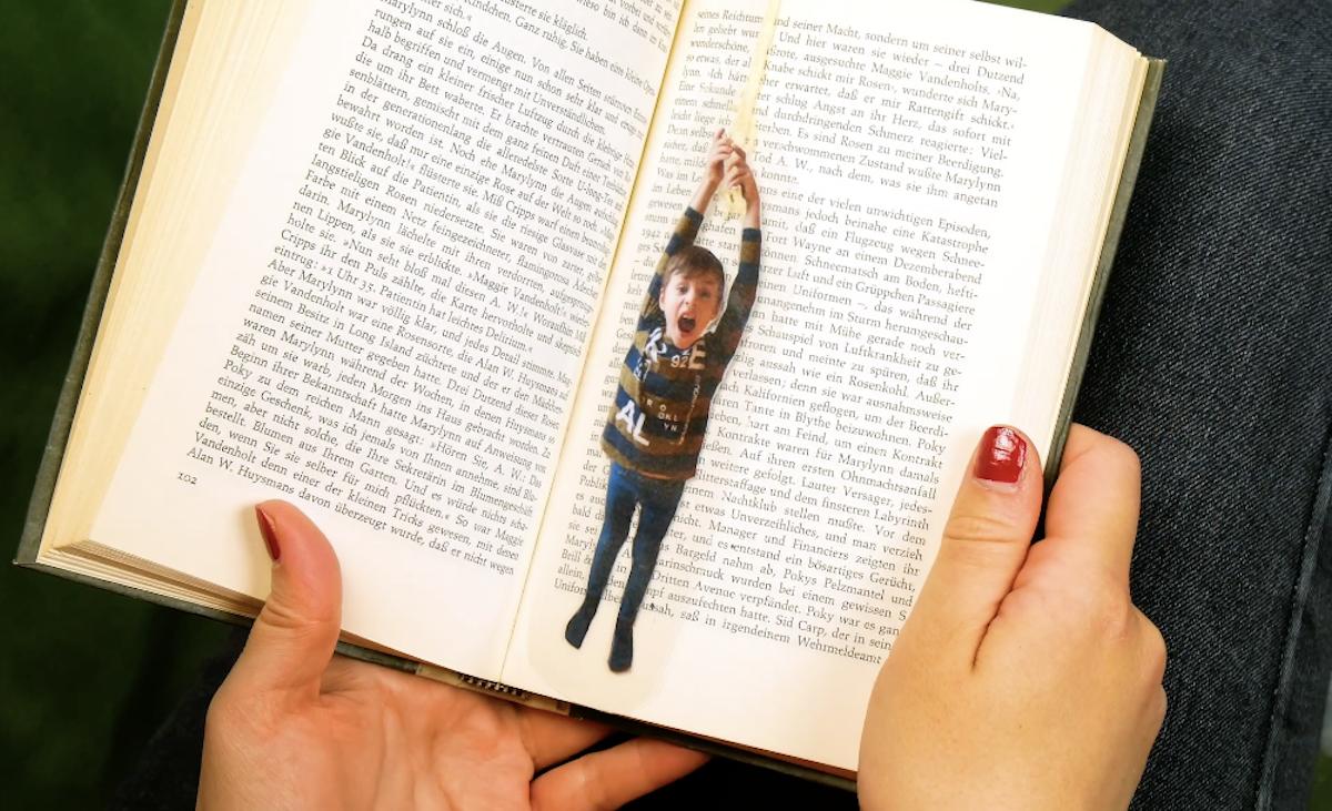 marcador de livro personalizado