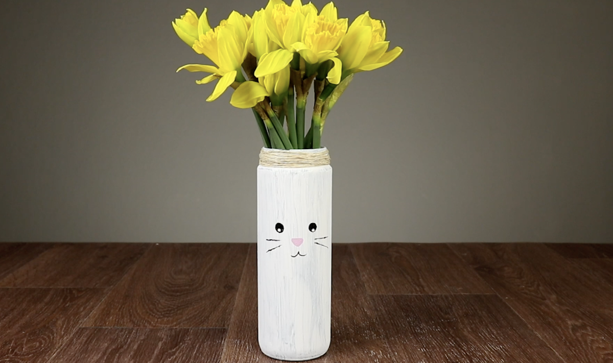 Cute Easter Bunny Vase