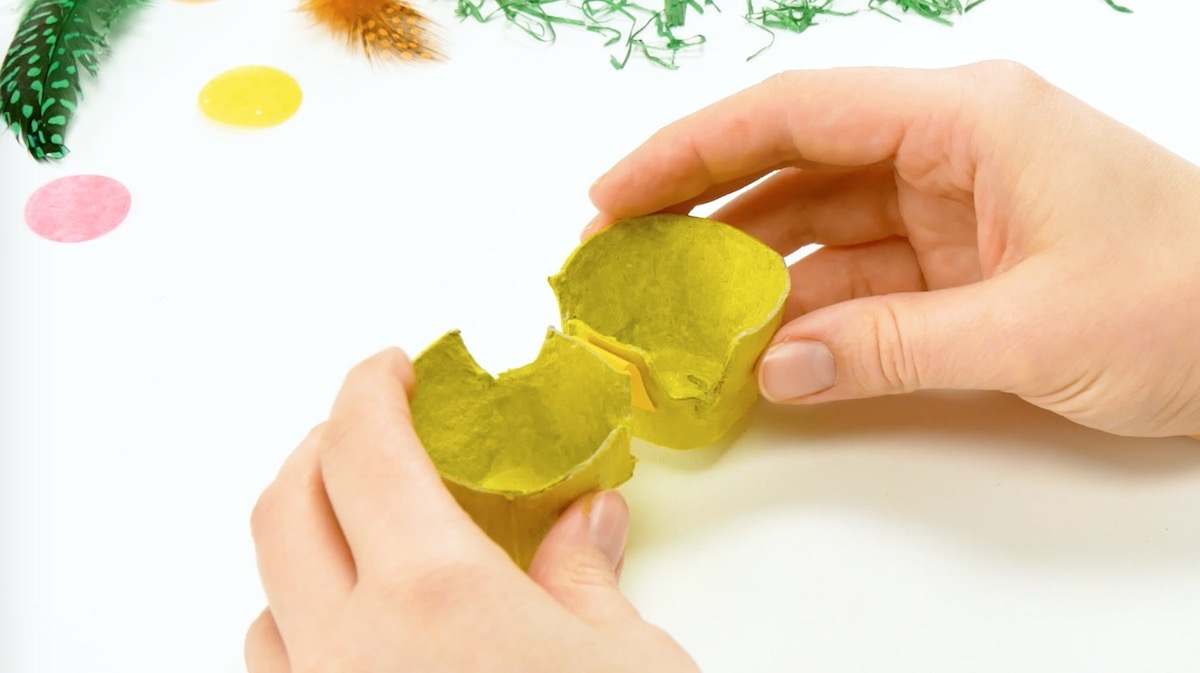 pinte caixinhas de ovo