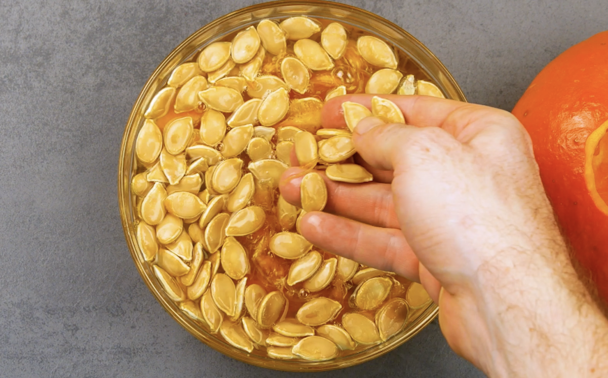 sementes de abóbora