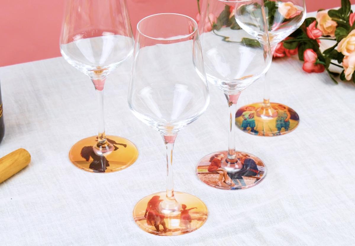 Taças de vinho personalizadas