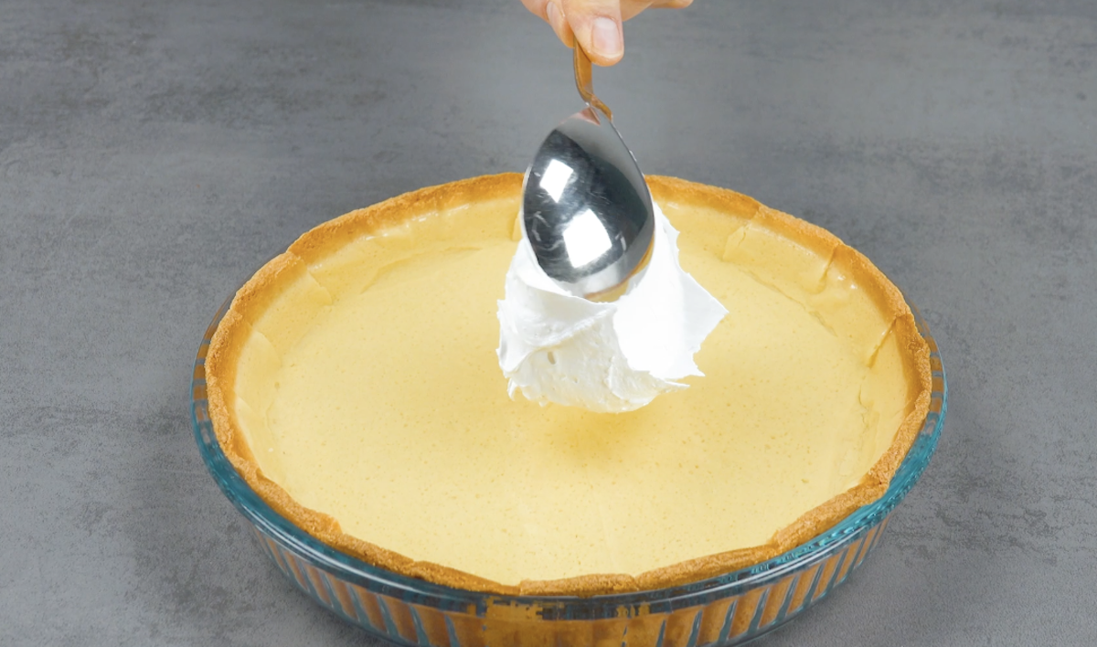 merengue sobre gelatina