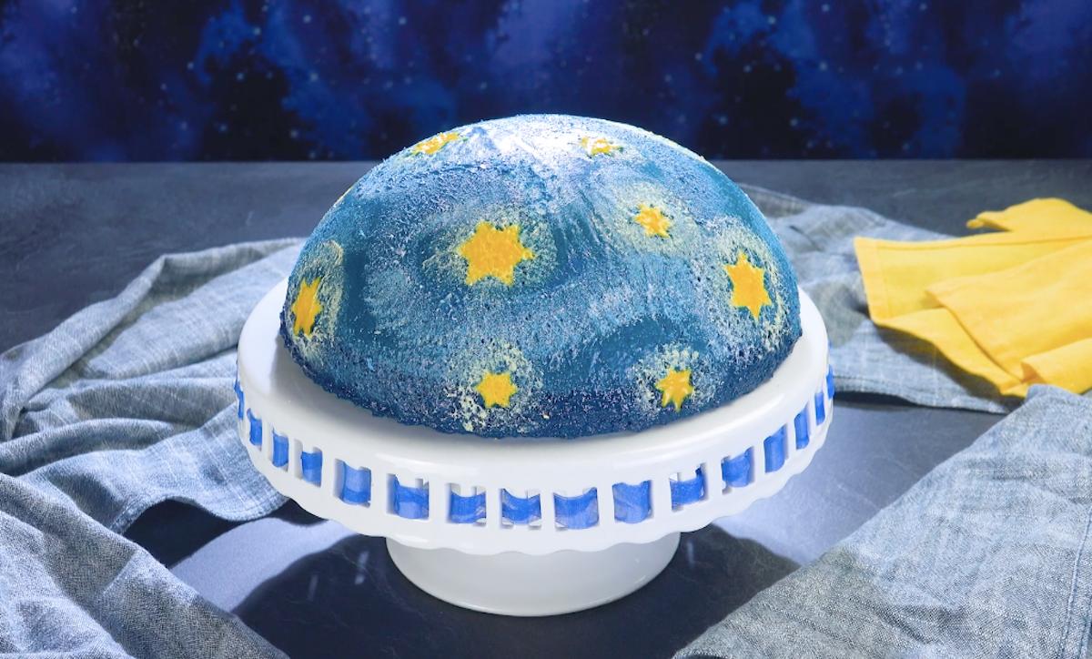 bolo noite estrelada