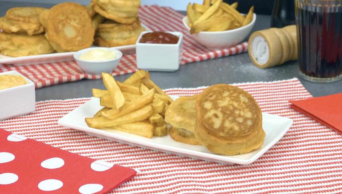 mini cheesebúrgueres