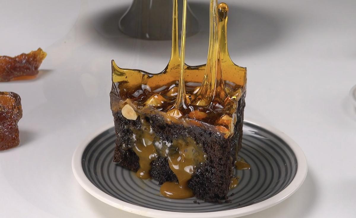 bolo de caramelo