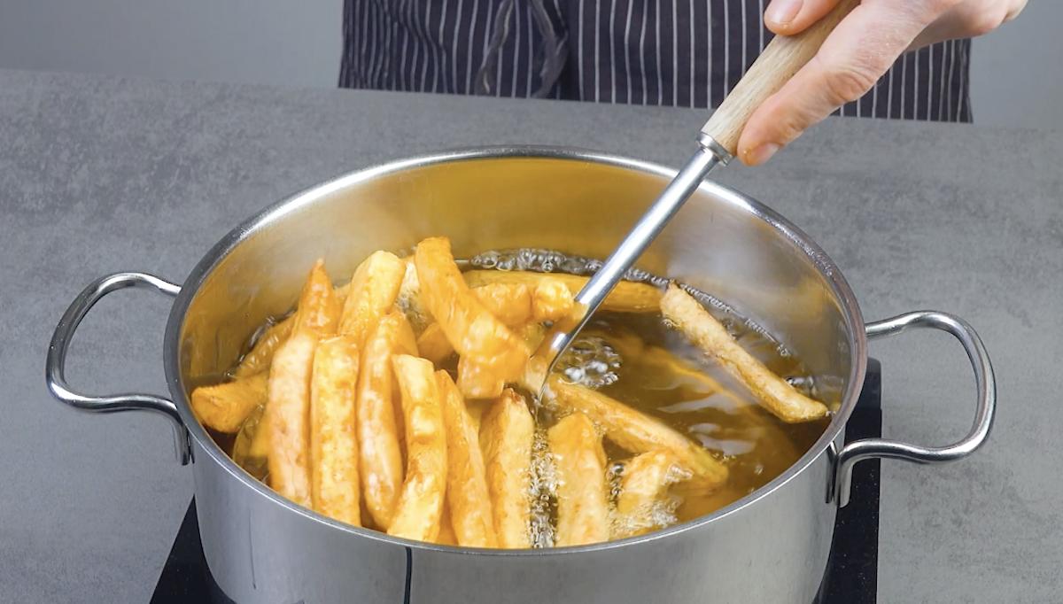 fritar batata