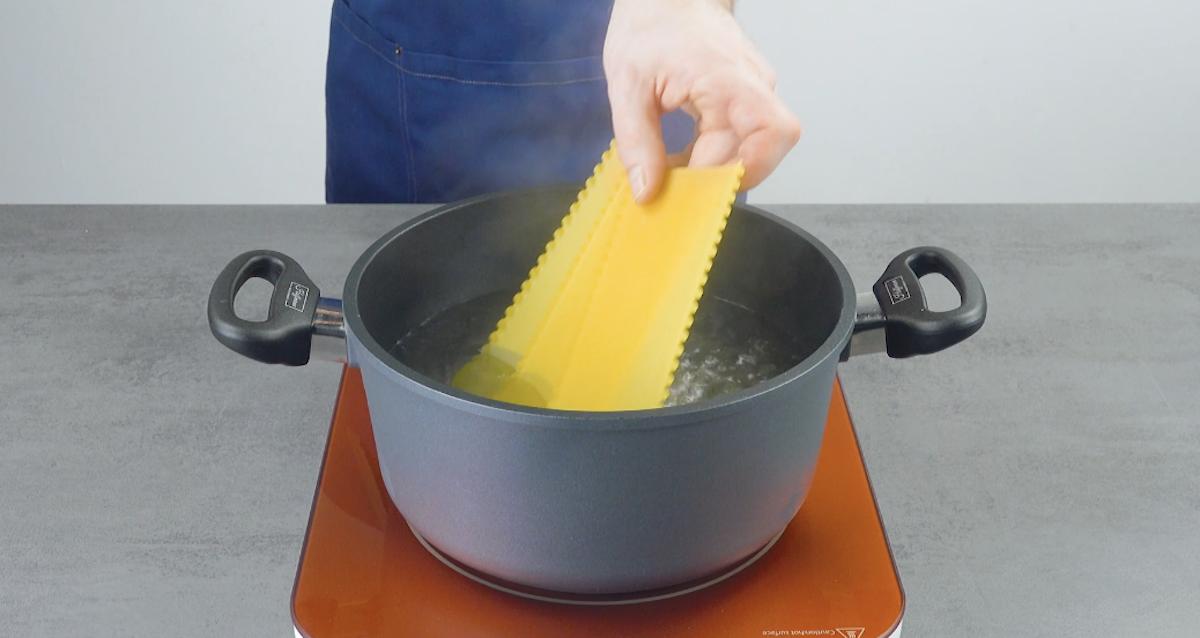massa de lasanha