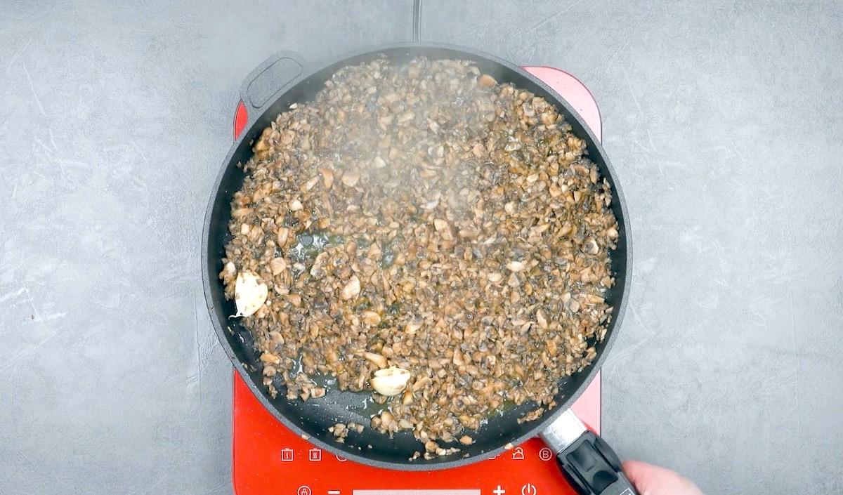 cogumelos fritos