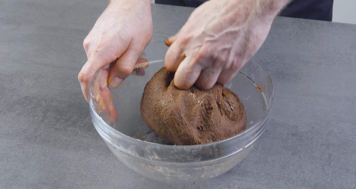 prepare a massa do pão