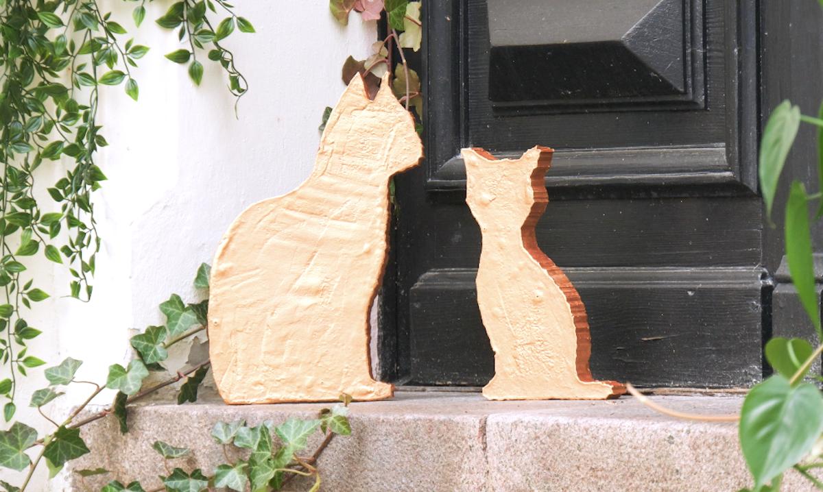 gatos de cimento