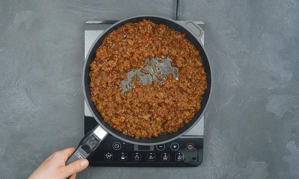 prepare a carne moída