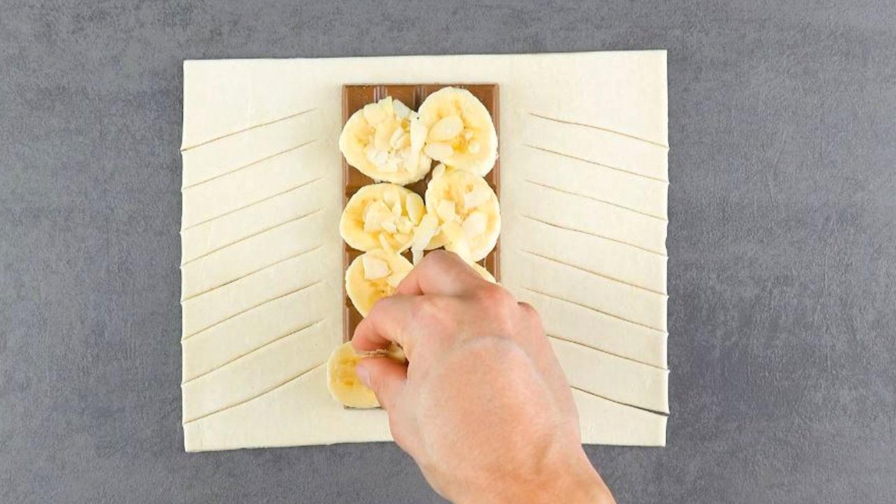 adicione banana e am6endoas