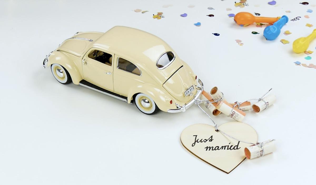 carrinho de casamento