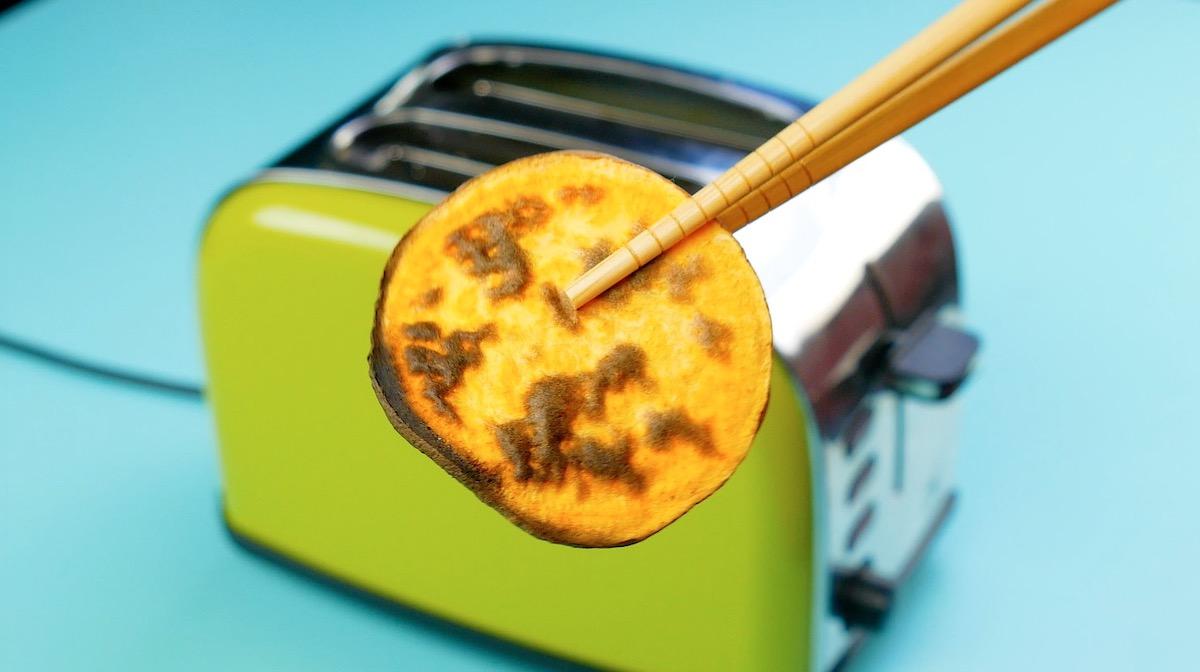 batata assada na torradeira