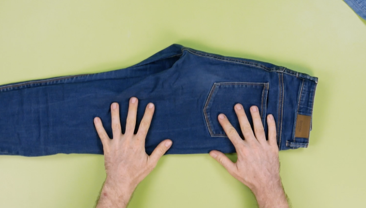 dobre a calça