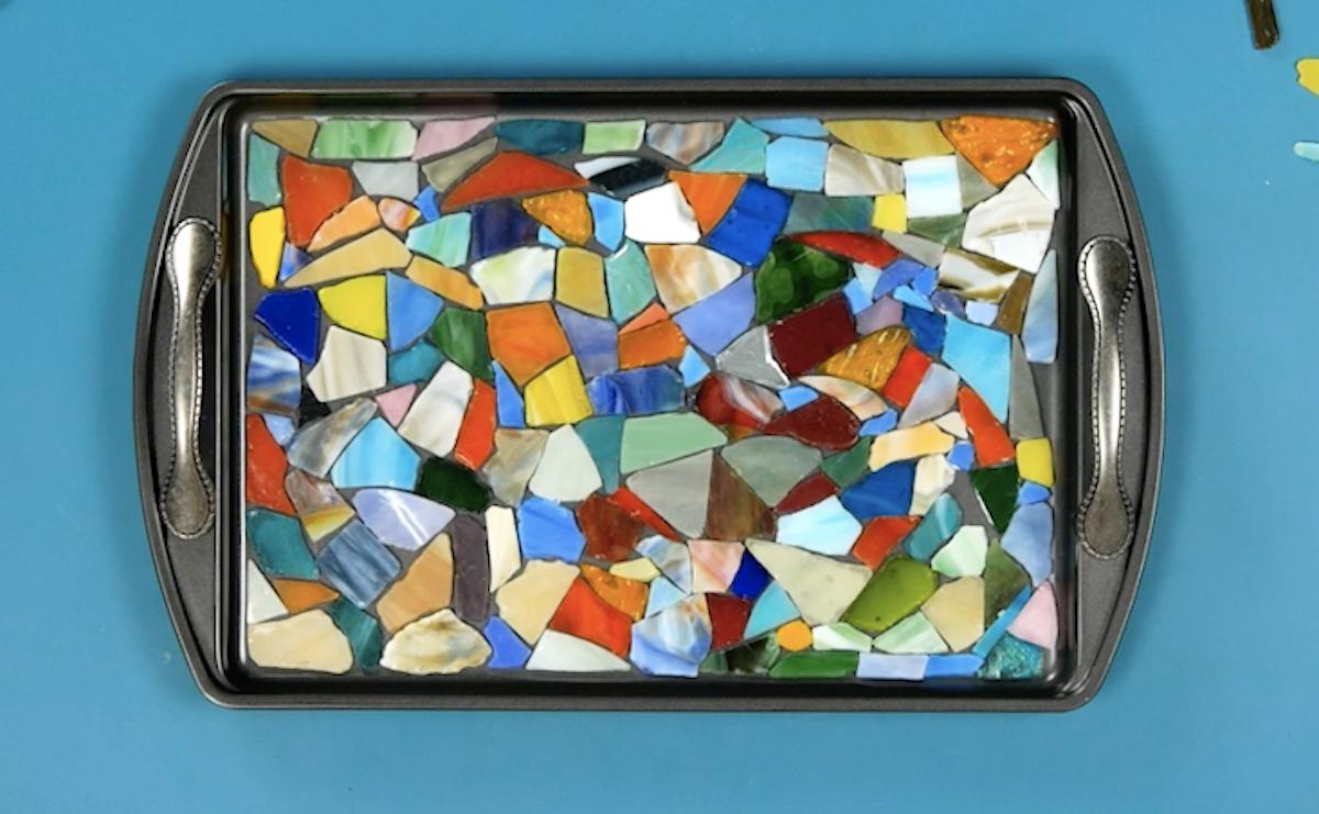 crie o mosaico
