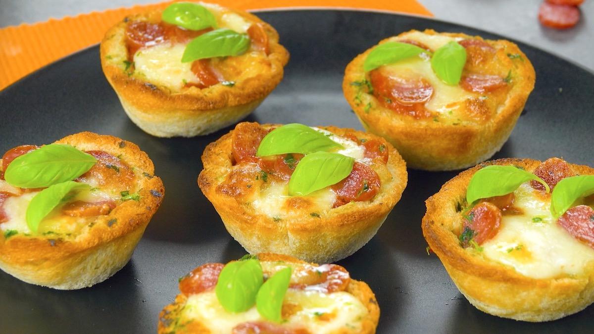 muffins de pão