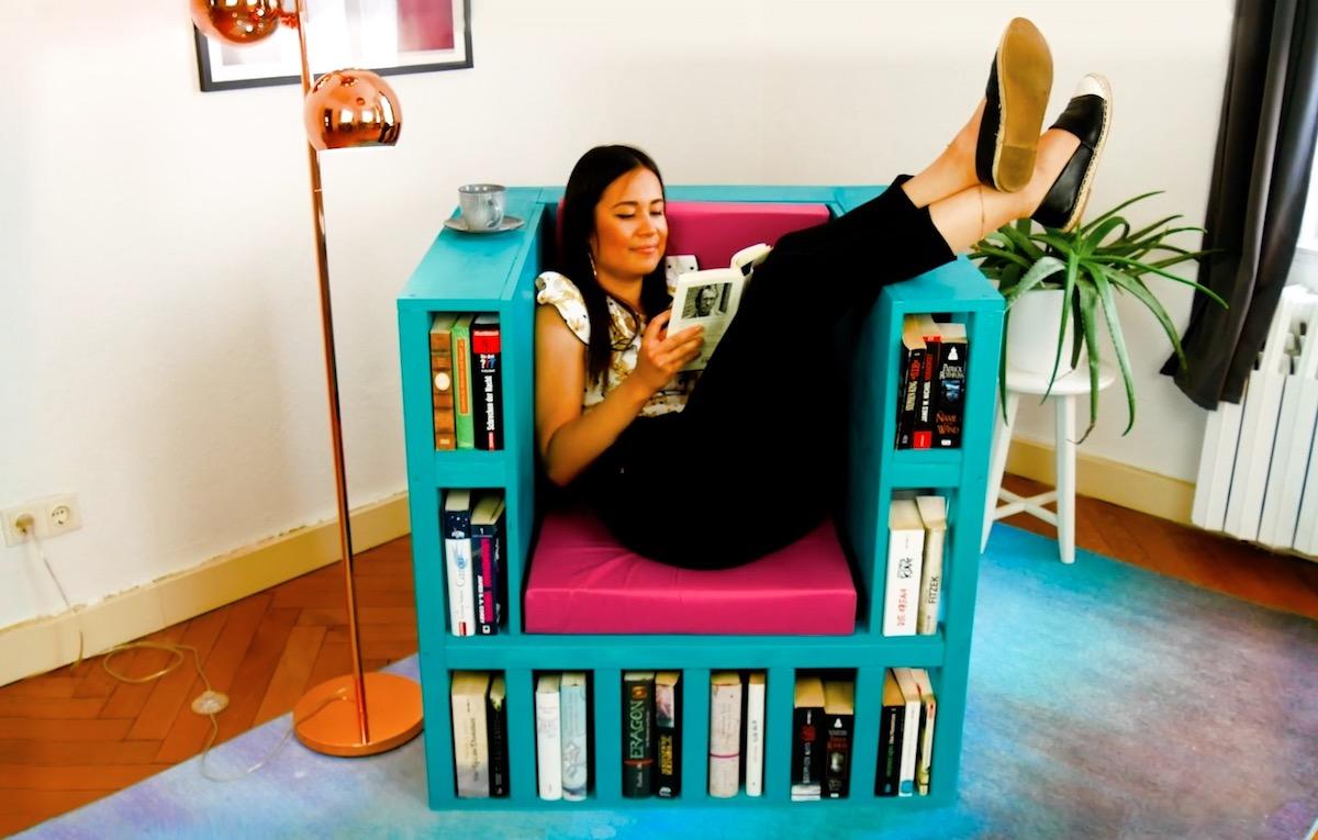 Cadeira de leitura