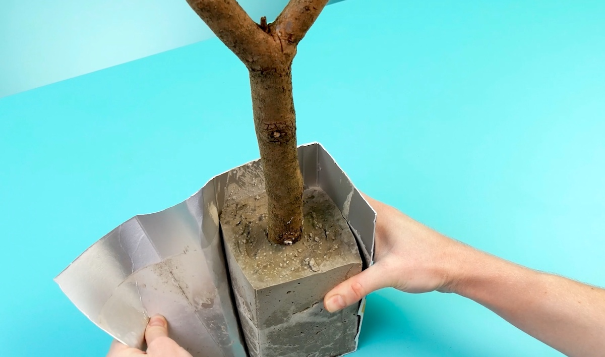 base de cimento