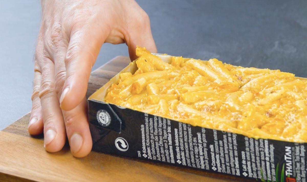 macarrão ao molho de queijo